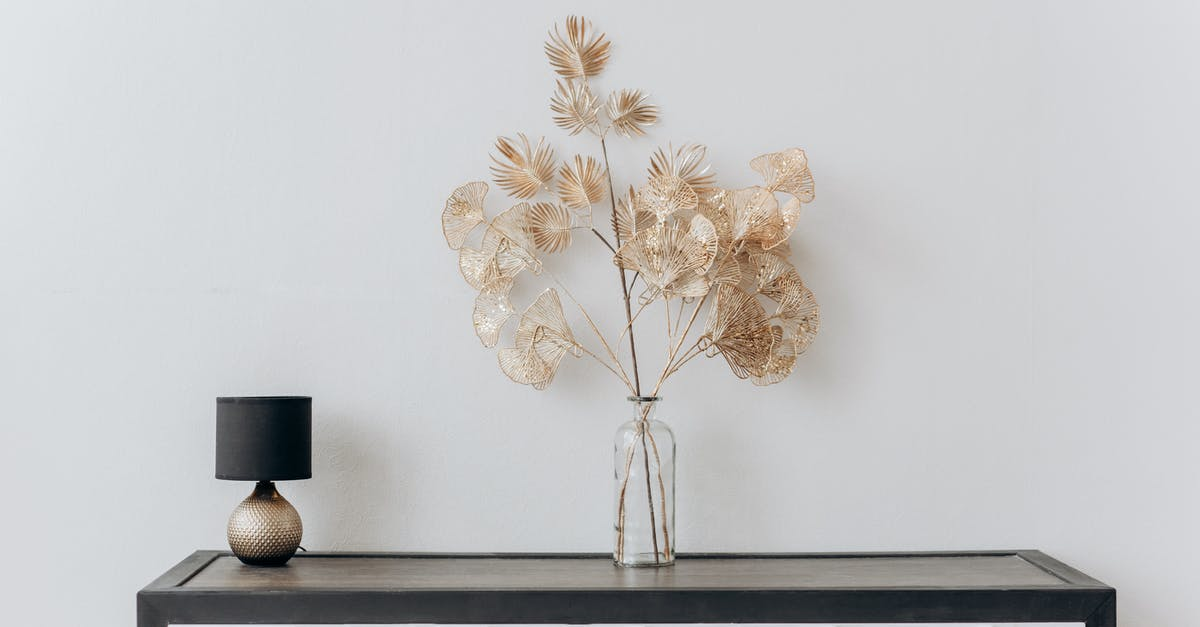 A vase of flowers on a table